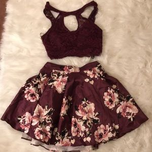 Dresses & Skirts - homecoming two piece 💌